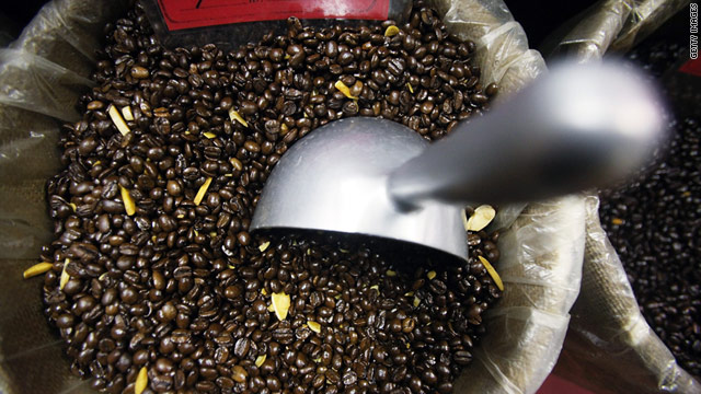 The cost of coffee beans hasn't been this high in three decades. Many coffee shop owners are raising prices.
