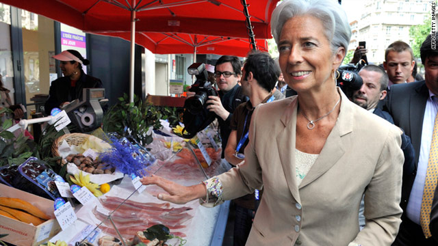Christine Lagarde is likely to face opposition from developing economies.