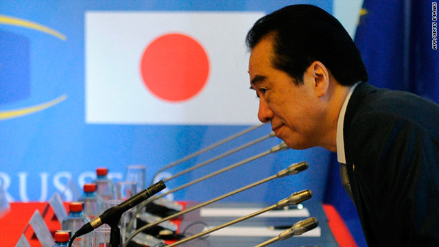 Austerity measures such as a hike in sales tax could put further pressure on Japanese Prime Minister Naoto Kan.