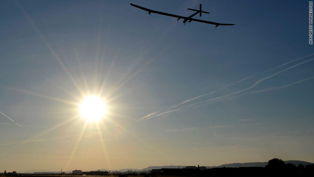 Solar-powered plane Solar Impulse is expected to take part in flying displays at the 2011 Paris Air Show.