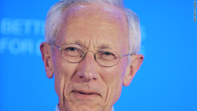 A May 25, 2011 file photo of Stanley Fischer, Governor of the Bank of Israel.
