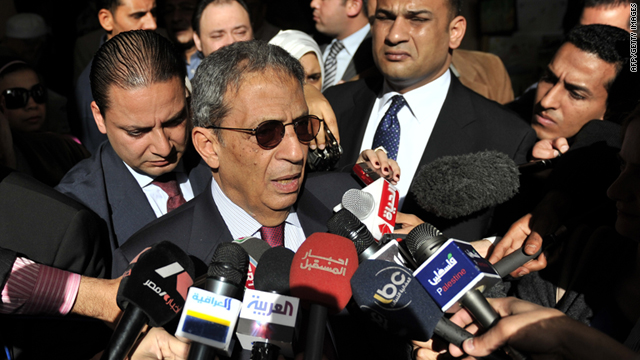 Amre Moussa, Egyptian Presidential candidate