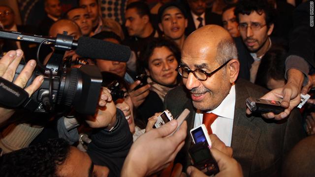 Egyptian presidential candidate Mohamed ElBaradei