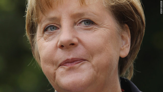 Angela Merkel's previously strong popularity ratings have dived amid the eurozone crisis.