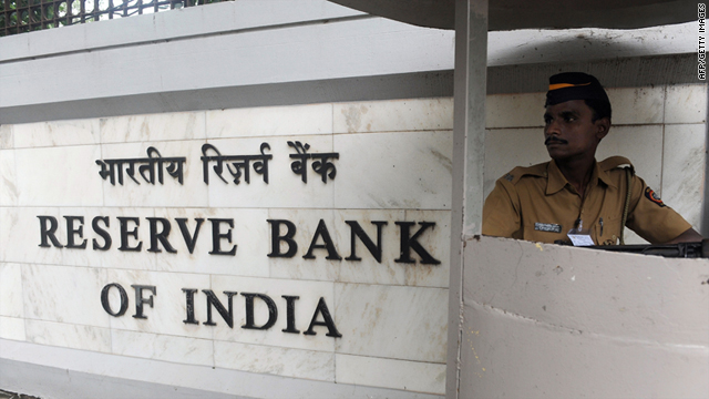 India's central bank has raised interest rates 11 times in the last 18 months in an attempt to curb double digit inflation.
