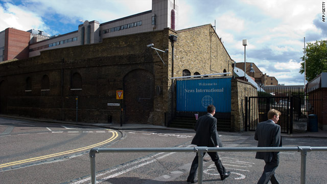 Rupert Murdoch will sell News International's flagship building in London's Wapping district.
