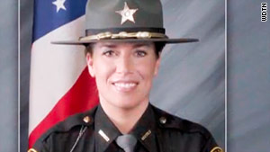 Deputy Suzanne Hopper, a mother of two, was shot and killed Saturday in Clark County, Ohio.