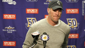 Quarterback Brett Favre has announced that he is retiring from the National Football League.
