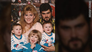 Cameron Todd Willingham, shown with his then-wife, Stacy Kuykendall, and their daughters, was executed in 2004.