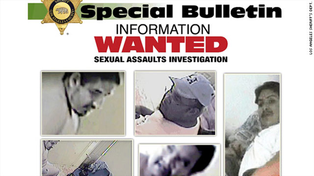 Police began searching for four suspects after receiving a video from an anonymous tipster.