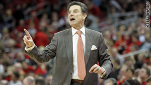 Louisville basketball coach Rick Pitino says the woman asked for cars, college tuition and monthly payments.