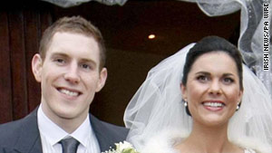 Michaela Harte-McAreavey, killed while on her honeymoon with John McAreavey, was buried in her wedding dress.