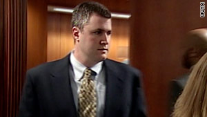 Gabe Watson appears in court Monday in Birmingham, Alabama.