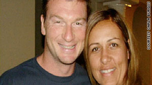 Bruce Beresford-Redman, left, is accused of killing his wife, right, and dumping her body at a Cancun, Miexico, resort.