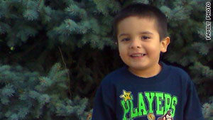 Authorities say Juliani Cardenas was wrestled away from his grandmother in Patterson, California.
