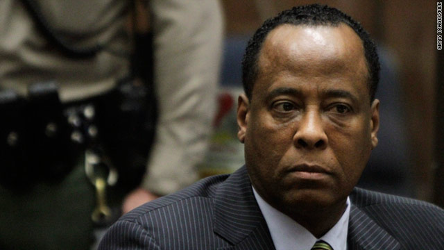 Dr. Conrad Murray is accused of manslaughter in the propofol intoxication death of pop star Michael Jackson.