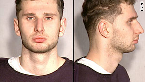 Maksim Gelman, 23, faces charges including murder, robbery and assault.