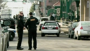 The shootings occured Friday at about 1 p.m. in a parking lot in Poughkeepsie, New York.