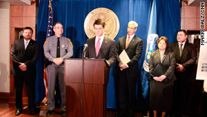 "Document fraud ""can be ugly and involve ... the use of deadly weapons,"" ICE Director John Morton said Thursday."