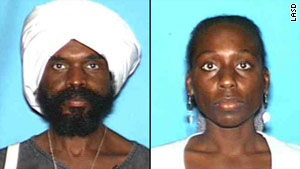 Ausar Allah-El and Serenity Sol-El are in custody in New Orleans on charges related to their son's 2009 abduction.