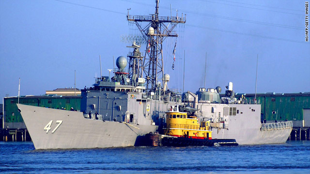 Five Somalis are accused of attacking the USS Nicholas in the Indian Ocean in 2010.