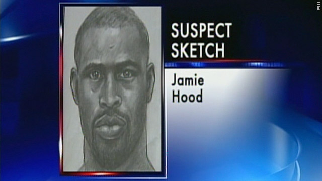 Jamie Donnell Hood is wanted in the shootings of two police officers, one of who died, last Tuesday in Athens, Georgia.