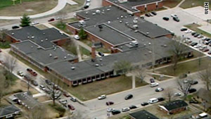 The shooting suspect was taken into custoday immediately after the incident, according to an assistant superintendent.