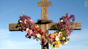 The mystery of who stole the cross and set it afire has deeply disturbed the small coastal town of Arroyo Grande.