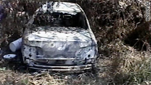 Greg McRae was guilty of using a fire to commit a felony -- specifically, burning this car with Henry Glover's body inside.