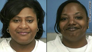 Jamie and Gladys Scott were released from prison in January while serving time for armed robbery.