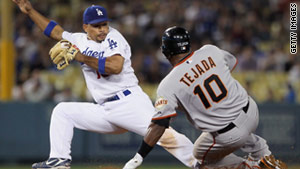 The San Francisco Giants and Los Angeles Dodgers faced off on Friday in Los Angeles, California.