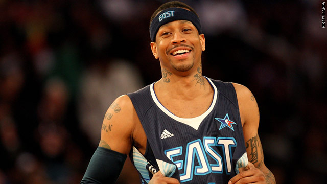 Allen Iverson apologized to police after he went on a expletive-filled tirade during a traffic stop last week in Atlanta, Georgia.