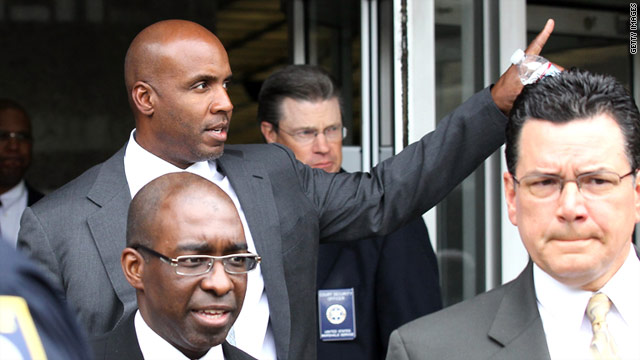 Barry Bonds is charged with lying under oath when he testified about his steroids use in 2003.