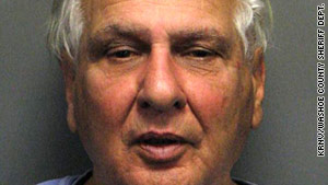 Joseph Naso, 77, was arrested Monday following his release from the El Dorado County jail in California.