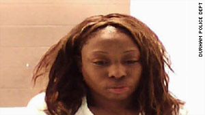 Crystal Mangum, 32, was charged Monday with murder, five days after her boyfriend succumbed to stabbing injuries.