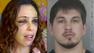 Witnesses say Catherine Scott-Gonzalez was attacked by her husband, Paul Gonzalez, in judge's chambers.