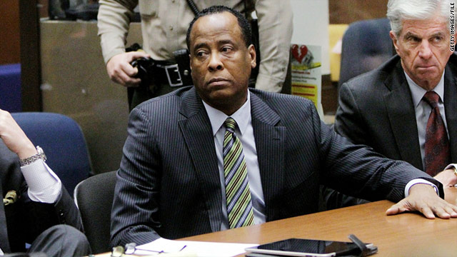Dr. Conrad Murray has said he was trying to wean Michael Jackson off propofol.