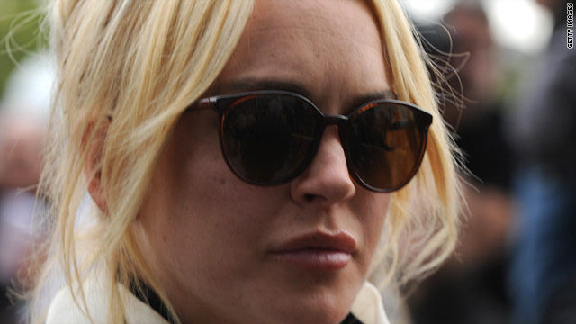 Lindsay Lohan was bailed out of jail Friday after she was sentenced for violating her probation.