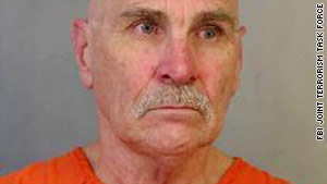 Earl Albert Moore, 65, is the subject of a nationwide manhunt in the attempted bombing of a Colorado mall.