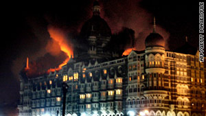Attacks on the Taj and other Mumbai hotels left six Americans dead, giving the U.S. the ability to press charges.