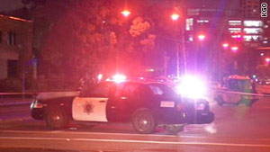 Police responded to a report of a shooting Tuesday night in a parking garage at San Jose State University.
