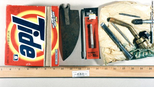 """Los objetos de """"Unabomber"""" salen a subasta en Internet"""