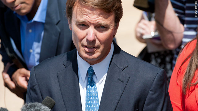 """I did not break the law. And I never, ever thought I was breaking the law,"" former Sen. John Edwards told reporters Friday."