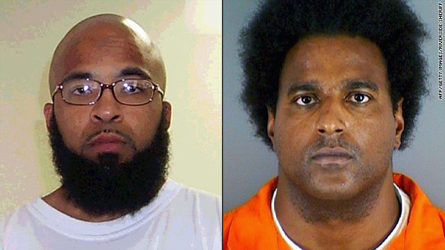 Mug shots show Abu Khalid Abdul-Latif, left, and Walli Mujahidh, who were charged with plotting to kill Americans.