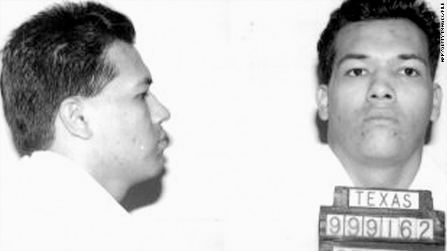 This 1995 booking photo courtesy of the Texas Department of Criminal Justice shows Humberto Leal Garcia.