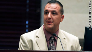 Orange County homicide detective Yuri Melich testifies during the Casey Anthony murder trial.