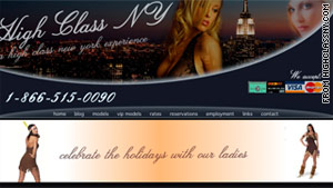 High Class NY is an escort service based in the Sheepshead Bay neighborhood of Brooklyn.