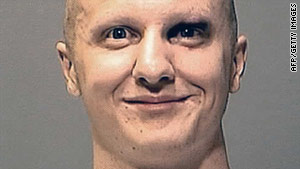 Jared Lee Loughner is charged in a mass shooting that killed six and injured 13, including Rep. Gabrielle Giffords.