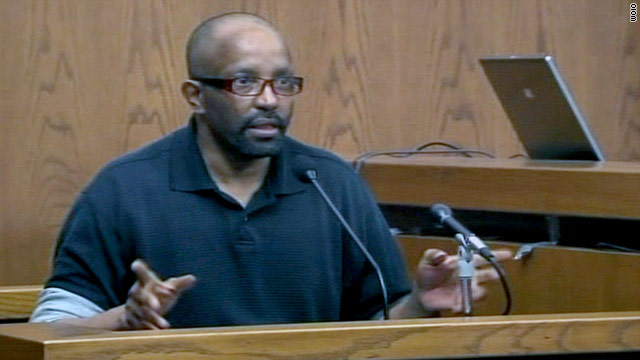 "Anthony Sowell testified on Monday, saying his childhood ""was like a war."""