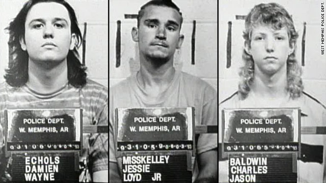 Damien Echols, Jessie Misskelley Jr. and Jason Baldwin were convicted of killing three West Memphis boys in 1993.